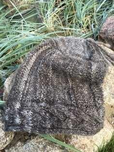 Mütze aus Jakobschaf