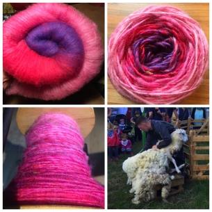 Vom Schaf zum Faden