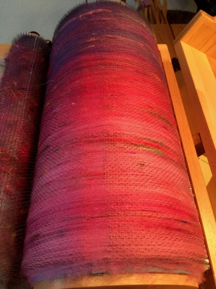 Fasern mischen
